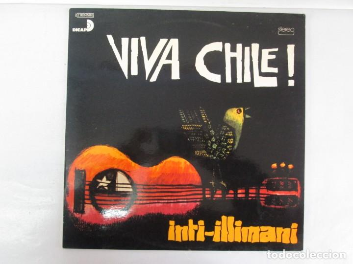 Discos de vinilo: VIVA CHILE! LA NUEVA CANCION CHILENA. INTI-ILLIMANI. 2 LP VIILO. VER FOTOGRAFIAS ADJUNTAS - Foto 13 - 139298266