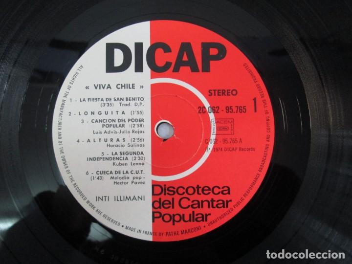 Discos de vinilo: VIVA CHILE! LA NUEVA CANCION CHILENA. INTI-ILLIMANI. 2 LP VIILO. VER FOTOGRAFIAS ADJUNTAS - Foto 17 - 139298266