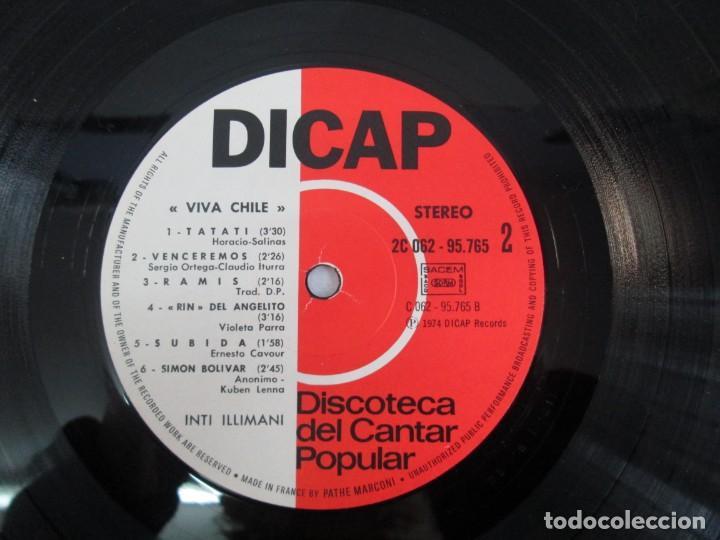 Discos de vinilo: VIVA CHILE! LA NUEVA CANCION CHILENA. INTI-ILLIMANI. 2 LP VIILO. VER FOTOGRAFIAS ADJUNTAS - Foto 19 - 139298266