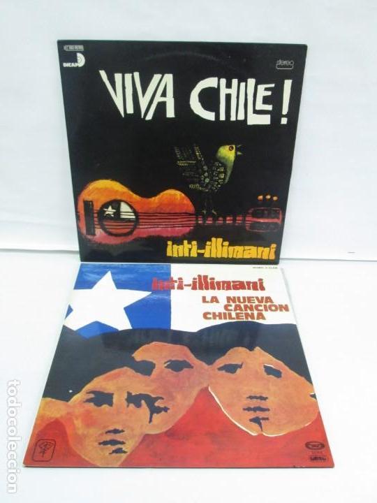 VIVA CHILE! LA NUEVA CANCION CHILENA. INTI-ILLIMANI. 2 LP VIILO. VER FOTOGRAFIAS ADJUNTAS (Música - Discos - LP Vinilo - Étnicas y Músicas del Mundo)