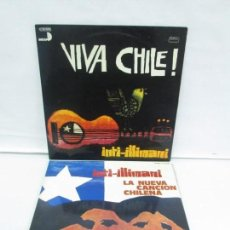 Discos de vinilo: VIVA CHILE! LA NUEVA CANCION CHILENA. INTI-ILLIMANI. 2 LP VIILO. VER FOTOGRAFIAS ADJUNTAS. Lote 139298266