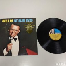 Discos de vinilo: 1118- FRANK SINATRA BEST OF OL BLUE EYES LP VINILO PORT VG +/++ DISCO VG +/++ SPAIN. Lote 143621649