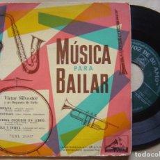 Discos de vinilo: VICTOR SILVESTER - MUSICA PARA BAILAR - EP LA VOZ DE SU AMO. Lote 139303954