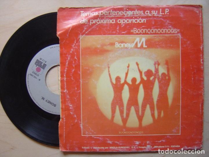 Discos de vinilo: BONEY M malaika + consuela biaz - SINGLE 1981 - ARIOLA - Foto 2 - 139315938