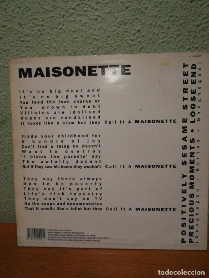 Discos de vinilo: MAISONETTE, IMPORT. - Foto 3 - 139319742