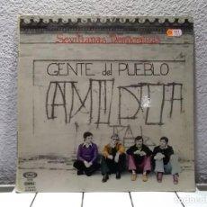 Discos de vinilo: GENTE DEL PUEBLO. Lote 139320814