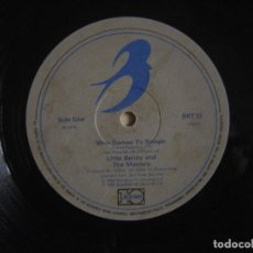 Discos de vinilo: LITTLE BENNY AND THE MASTERS - WHO COMES TO BOOGIE - MAXI-SINGLE 45 - 1985 - BLUEBIRD. Lote 139322854