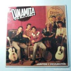 Discos de vinilo: DINAMITA PA LOS POLLOS - JUNTOS Y REVUELTOS. Lote 139335038