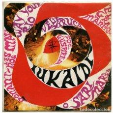 Discos de vinilo: UKAIDÍ ?– IUKAIDÍ - I - EP ALS 4 VENTS SPAIN 1967 + HOJA CON LETRAS. Lote 139341138