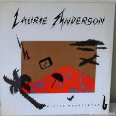 Discos de vinilo: LAURIE ANDERSON - MISTER HEARTBREAK W B - 1984. Lote 139341626