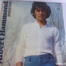 Discos de vinilo: ALBERT HAMMOND -ANSIEDAD-1976 CBS. Lote 139361394
