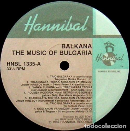 Discos de vinilo: Balkana: The Music Of Bulgaria (France, 1987) - Foto 3 - 139362182