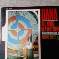 Discos de vinilo: DANA ALL KINDS OF EVERETHING 45 RPM. Lote 139363465
