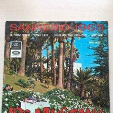 Discos de vinilo: LOS MUSTANG. Lote 139381005