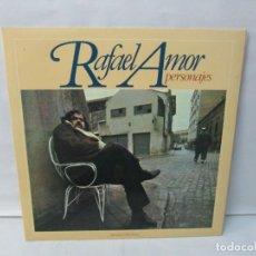 Discos de vinilo: RAFAEL AMOR. PERSONAJES. LP VINILO. DISCOS MOVIEPLAY 1978. VER FOTOGRAFIAS ADJUNTAS. Lote 139381062