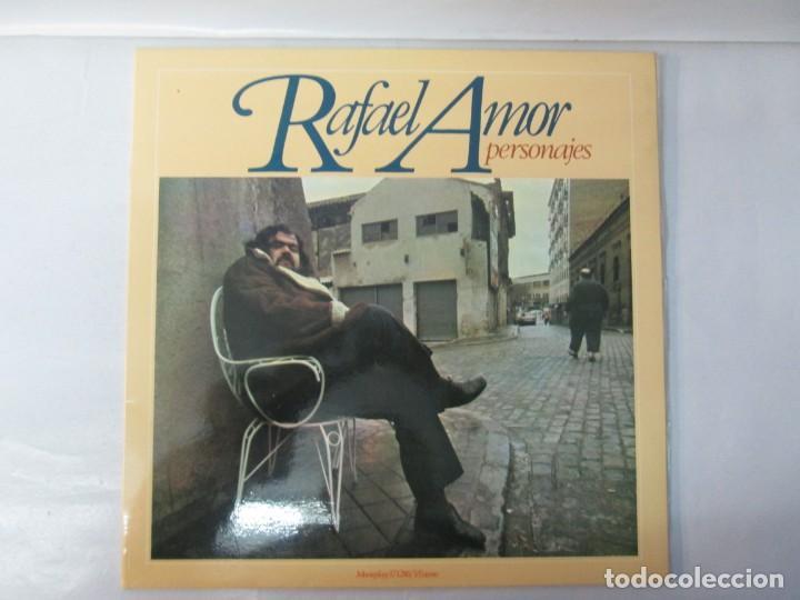 Discos de vinilo: RAFAEL AMOR. PERSONAJES. LP VINILO. DISCOS MOVIEPLAY 1978. VER FOTOGRAFIAS ADJUNTAS - Foto 2 - 139381062