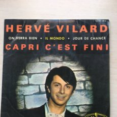 Discos de vinilo: HERVÉ VILARD. Lote 139381377