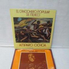 Discos de vinilo: AMPARO OCHOA. DE MEXICO. EL CANCIONERO POPULAR DE MEXICO. 2 LP VINILO. MOVIEPLAY. VER FOTOGRAFIAS. Lote 295439803