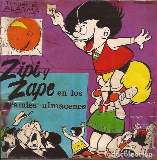 Discos de vinilo: SINGLE-CARPANTA CAMARERO/ZIPI Y ZAPE EN LOS GRANDES ALMACENES CEM 1902 PORTADAS ESCOBAR - Foto 2 - 139383578