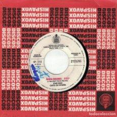 Dischi in vinile: JOAN BAEZ - MARIA DOLORES / LA NOCHE QUE TOMARON DIXIE (SINGLE PROMO ESPAÑOL, HISPAVOX 1971). Lote 139390582