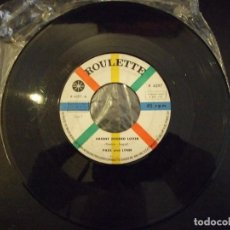 Discos de vinilo: PAUL AND LYNN - SIN FUNDA - ABSENT MINDED LOVER , WELL WE - ROULETTE 1961. Lote 139405582
