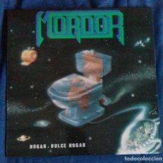 Discos de vinilo: MORDOR- HOGAR DULCE HOGAR. WALKIRIA LP ESPAÑA 1994 THRASH HEAVY METAL. Lote 139409358