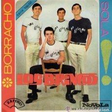Discos de vinilo: LOS BRINCOS. VINILO SINGLE 45 RPM. BORRACHO + SOLA. NOVOLA AÑO 1965. Lote 139414654