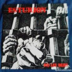 Discos de vinilo: ESTURION-NO LES DEJES. LA ROSA RECORDS LP ESPAÑA 1990. Lote 139426846