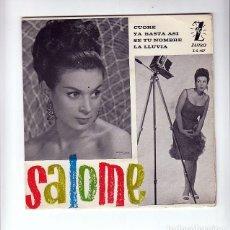 Discos de vinilo: SALOME: RARO DE ZAFIRO- LAMINADO-1963-MUY BIEN. Lote 139437182