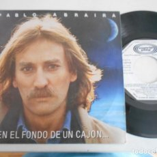Discos de vinilo: PABLO ABRAIRA-EP EN EL FONDO DE UN CAJON +2-PROMO RADIO. Lote 139448734