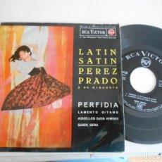 Discos de vinilo: PEREZ PRADO-EP PERFIDIA +3. Lote 139450074