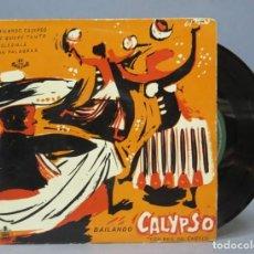 Discos de vinilo: EP. BAILANDO CALYPSO CON RAUL CASTILLO. Lote 139459170