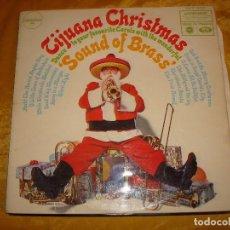 Discos de vinilo: THE TORERO BAND. TIJUANA CHRISTSMAS. MUSIC FOR PLEASURE, 1968. EDC. INGLESA (#). Lote 139463486