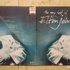 Discos de vinilo: LP THE VERY BEST OF ELTON JOHN - DOBLE LP - PHONOGRAM 1990. Lote 139464146