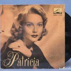 Discos de vinilo: EP. PATRICIA. GEOFF LOVE. Lote 139464206