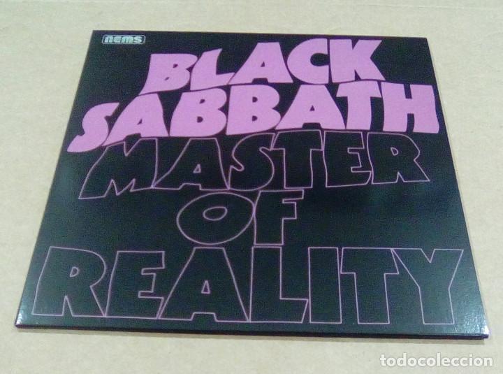 BLACK SABBATH - MASTER OF REALITY (LP EDICIÓN NO OFICIAL) NUEVO (Música - Discos - LP Vinilo - Heavy - Metal)