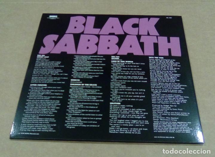 Discos de vinilo: BLACK SABBATH - Master Of Reality (LP edición no oficial) NUEVO - Foto 2 - 224216300