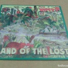 Discos de vinilo: WIPERS - LAND OF THE LOST (LP REEDICIÓN ) NUEVO. Lote 187077360