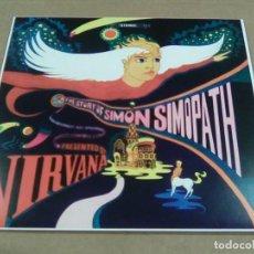 Discos de vinilo: NIRVANA - THE STORY OF SIMON SIMOPATH (LP REEDICIÓN NO OFICIAL, PSICODELIA 60'S) NUEVO. Lote 155788609