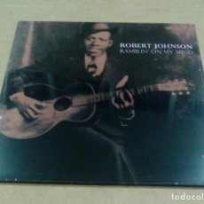 Discos de vinilo: ROBERT JOHNSON - RAMBLIN' ON MY MIND (LP PRIMITIV SOUND PRMOO) PRECINTADO. Lote 180463056