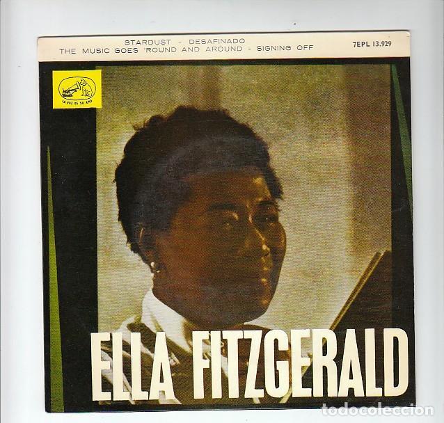 ELLA FITZGERALD: CASI EXCELENTE- JAZZ (Música - Discos de Vinilo - EPs - Jazz, Jazz-Rock, Blues y R&B)