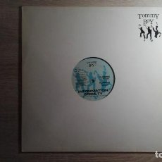Discos de vinilo: MAXI SINGLE 33 RPM INFORMATION SOCIETY- RUNNING-AÑO 1988-IMPORTACIÓN-DIFÍCIL-TEMAZO 80,S. Lote 139482522