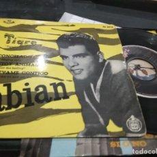 Discos de vinilo: FABIÁN TIGRE + 3 EP 1960 MUY BUEN SONIDO. Lote 139498266
