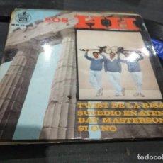 Discos de vinilo: EP LOS H.H 1963 TWIST DE LA RISA + 3 VG+. Lote 139498418