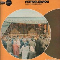 Disques de vinyle: FESTIVAL GAVIOU ORGANO FERIAL GAVIOLI / LP DE 1974 RF-6734 , PERFECTO ESTADO. Lote 139503378