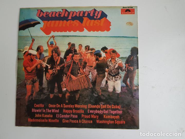 BEACHPARTY - JAMES LAST (VINILO) (Música - Discos de Vinilo - Maxi Singles - Orquestas)