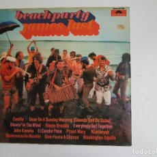 Discos de vinilo: BEACHPARTY - JAMES LAST (VINILO). Lote 139507606