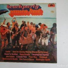 Discos de vinilo: BEACHPARTY - JAMES LAST (VINILO). Lote 139507606