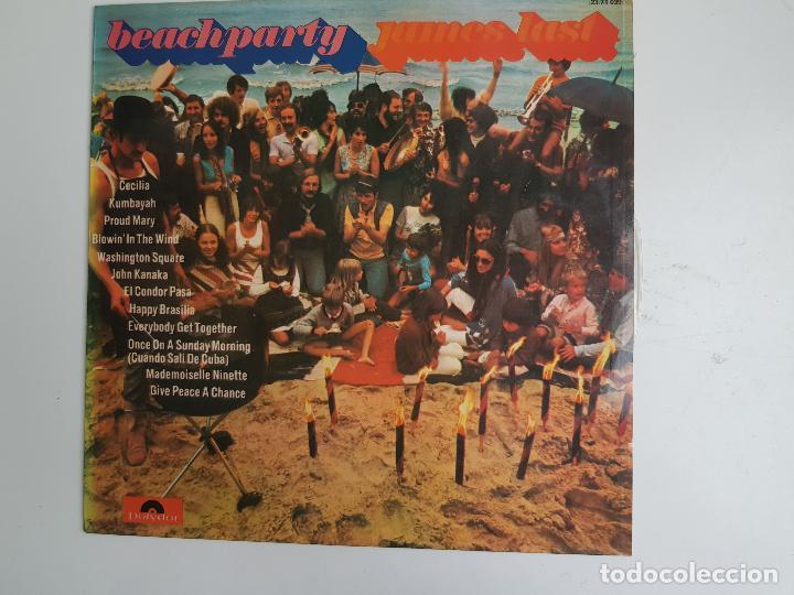 Discos de vinilo: Beachparty - James Last (VINILO) - Foto 2 - 139507606