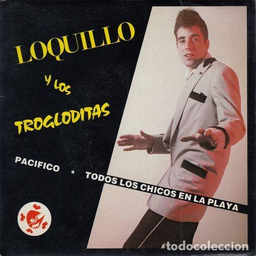 Discos de vinilo: LOQUILLO Y TROGLODITAS NO BAILES ROCK AND ROLL EN EL CORTE INGLES - SINGLE VINILO MOVIDA MADRILEÑA - Foto 1 - 140968549
